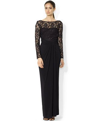 Macy Ralph Lauren Evening Dress