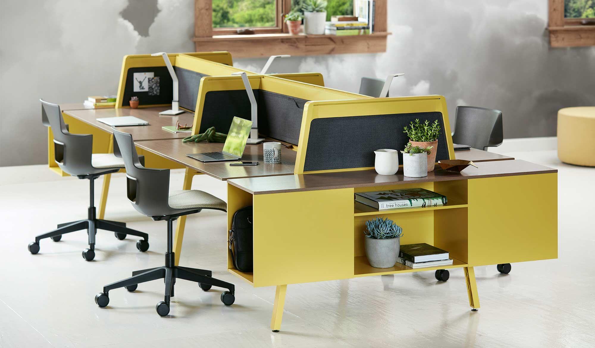 Bivi Collection Of Modular Office Desk Systems Turnstone Modern Office Furniture Design Office Furniture Modern Office Furniture Design