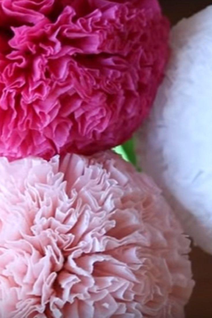 How to make round tissue paper flower diy paper craft video diy how to make round tissue paper flower diy paper craft video diy mightylinksfo