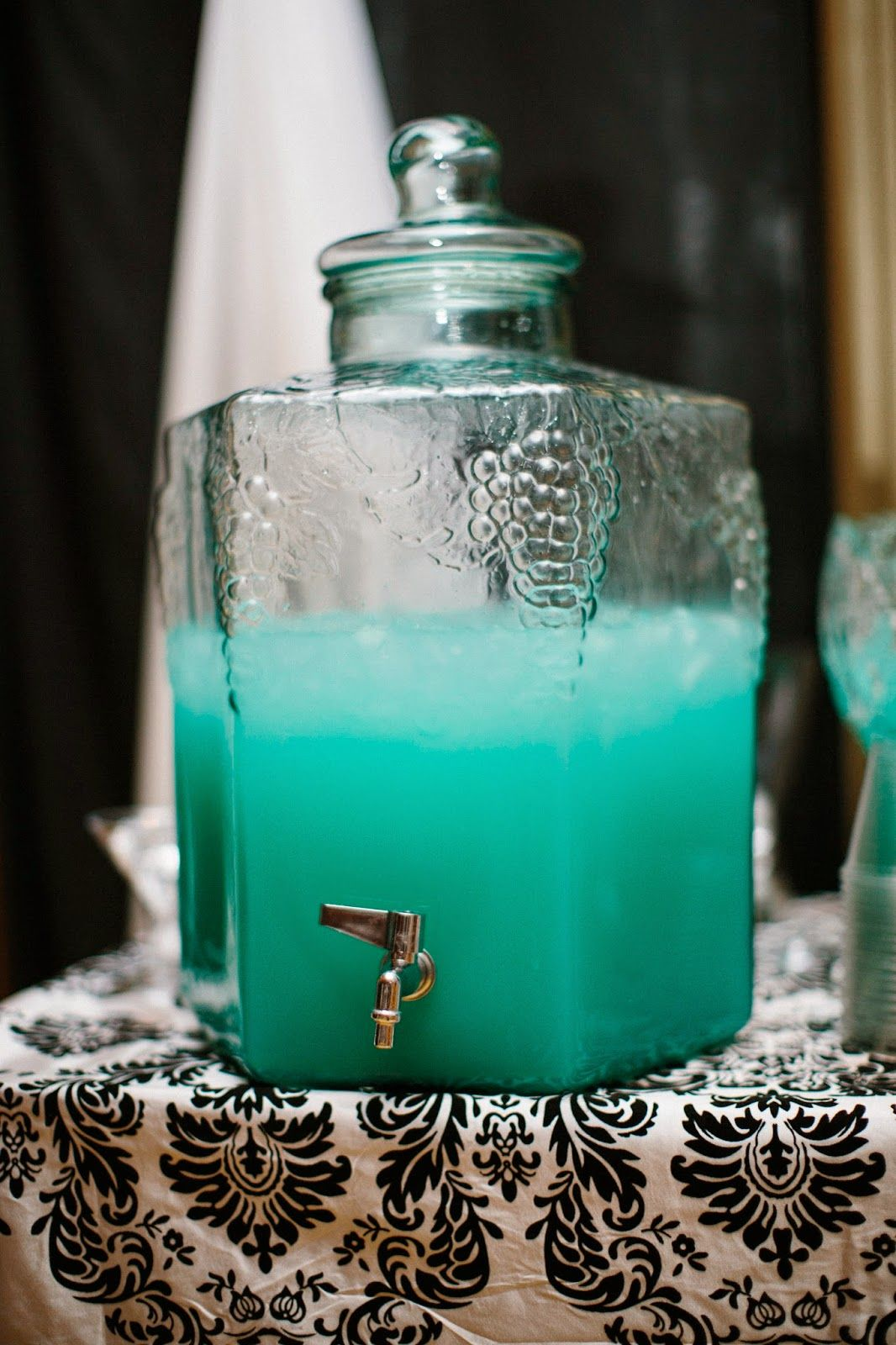 Just brit tiffany blue wedding punch wedding pinterest just brit tiffany blue wedding punch junglespirit Image collections