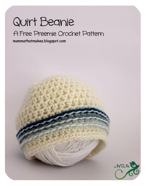 25. Quirt Preemie Beanie | Preemies! | Pinterest