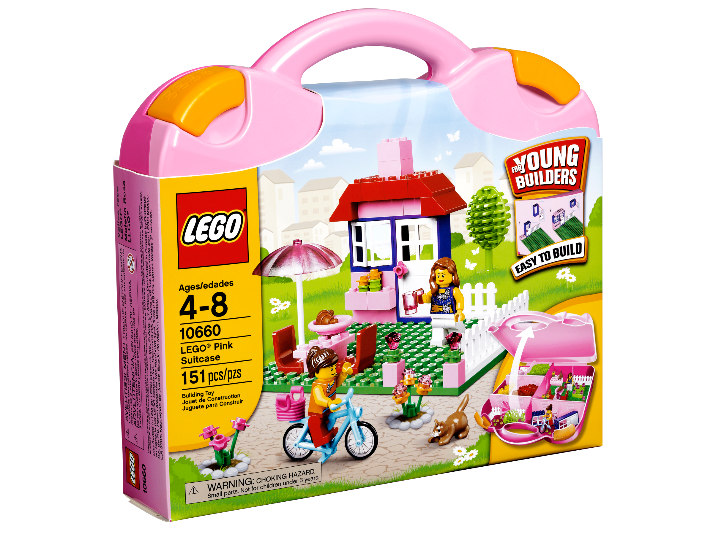 Amazon.com: LEGO Juniors 10660 House Suitcase: Toys & Games
