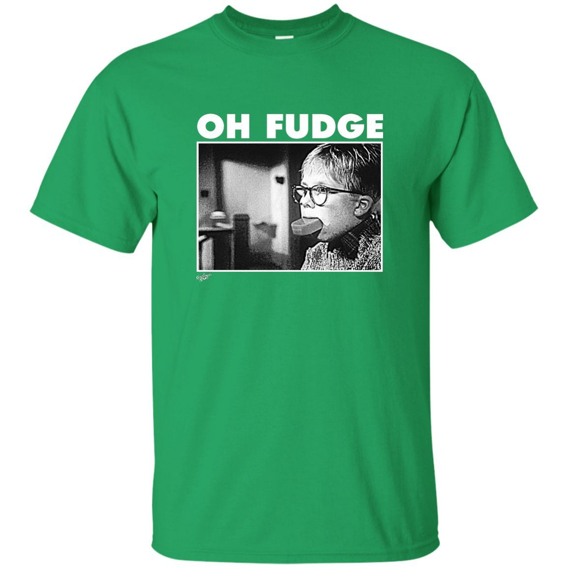A Christmas Story Oh Fudge Soap Pic Custom Ultra Cotton T-Shirt ...