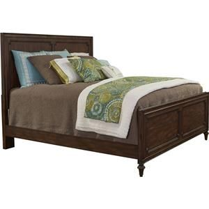 Best Broyhill Furniture Cranford Queen Wood Panel Bed With 400 x 300