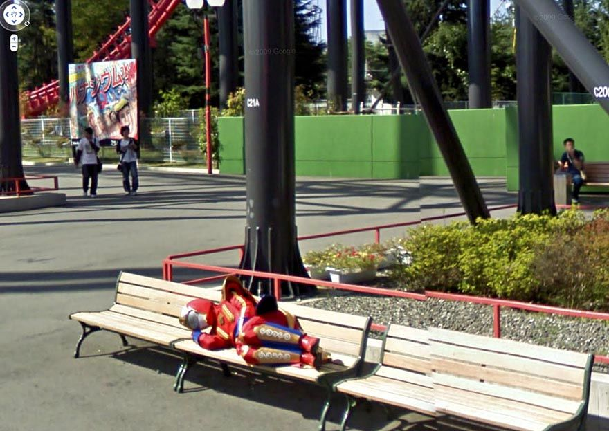 36 Strange And Funny Google Street View Photos Funny