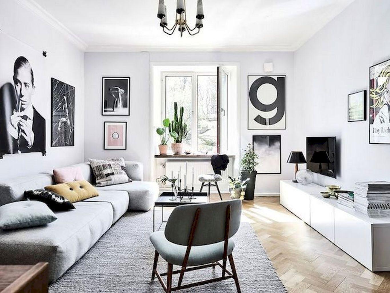 70 Minimalist Living Room Furniture Design Ideas | Minimalist living ...