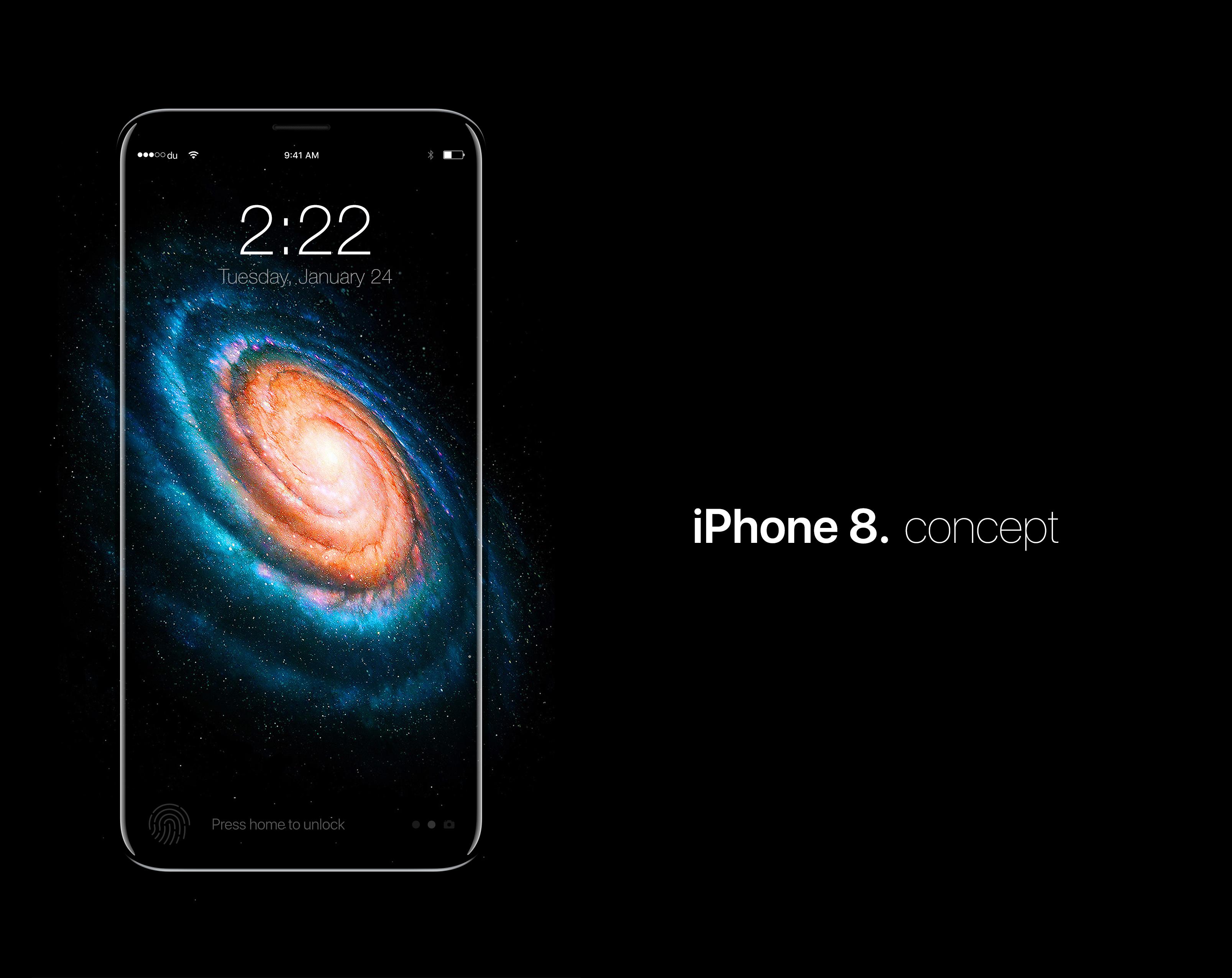iPhone 8 Concept Iphone 8 concept, Iphone 8, Iphone