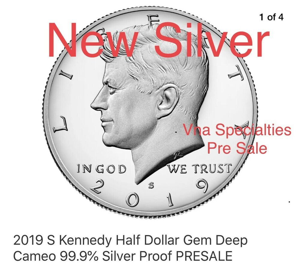 2017 P+D+S+S+S Kennedy Silver Enhanced and PD Half Dollar Mint Proof Set Clad