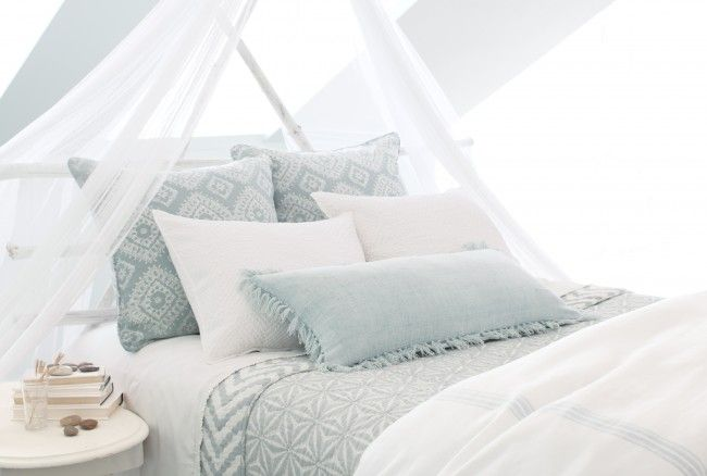 Ready For A Romantic Refresh For Your Bedroom Decor Here S How To Hang A Mosquito Net Bedding Canopy In Less Than A Half Hour Mosquito Net Bed Bed Canopy Bed