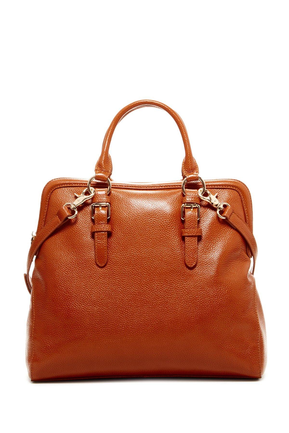 Zenith Handbags Buckle Detail Dome Satchel Hautelook