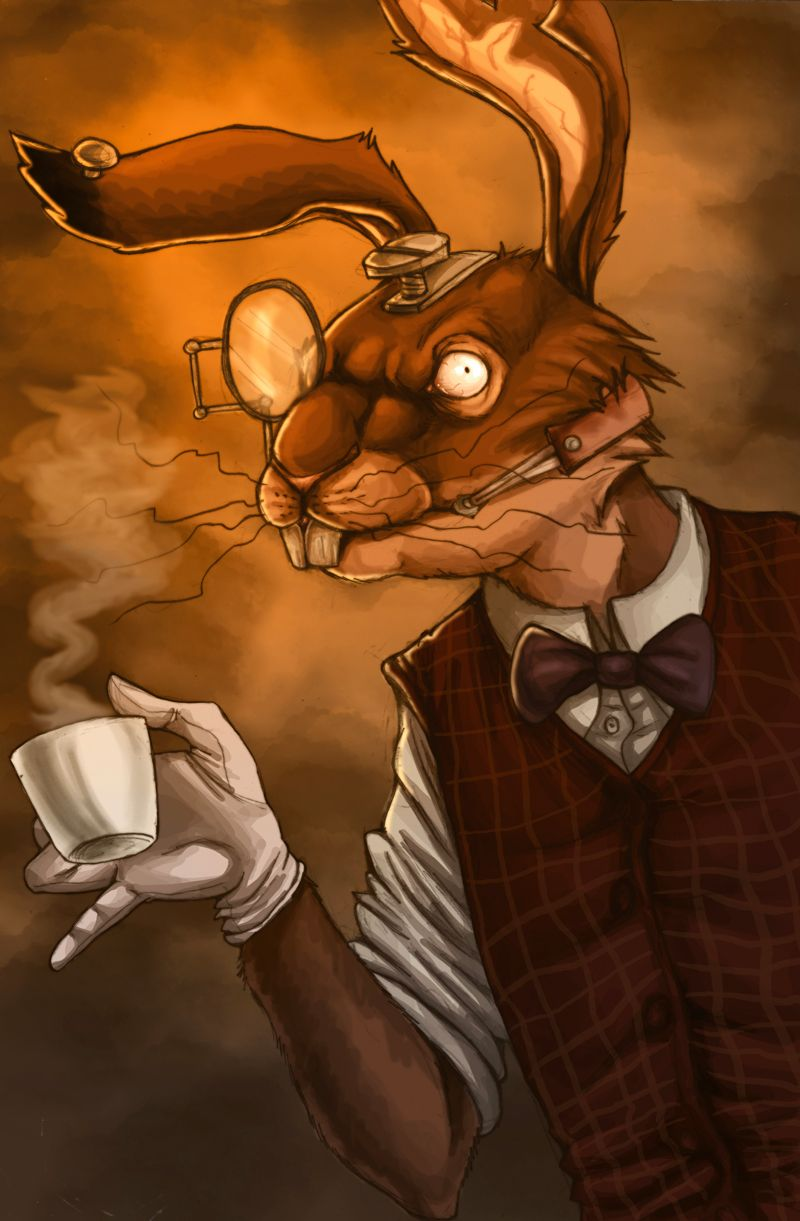 Amr March Hare By Fiszike Deviantart Com On Deviantart With