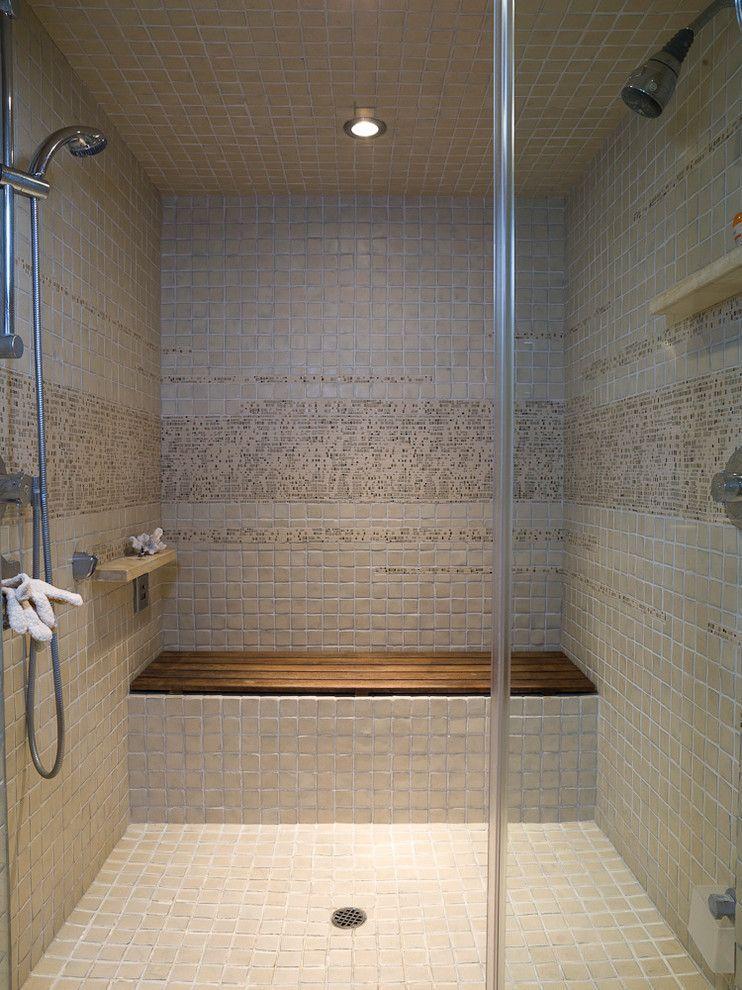 steam shower tile floor Google Search Teak shower