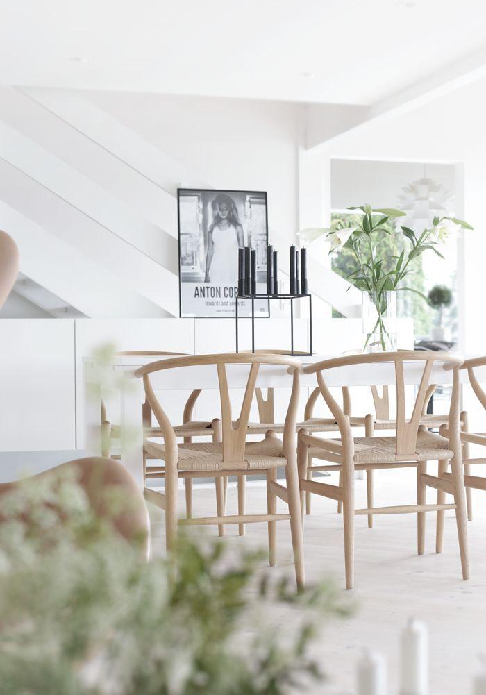 Design Klassiker: Der Wishbone Chair   Lilaliv   Eetkamer ...