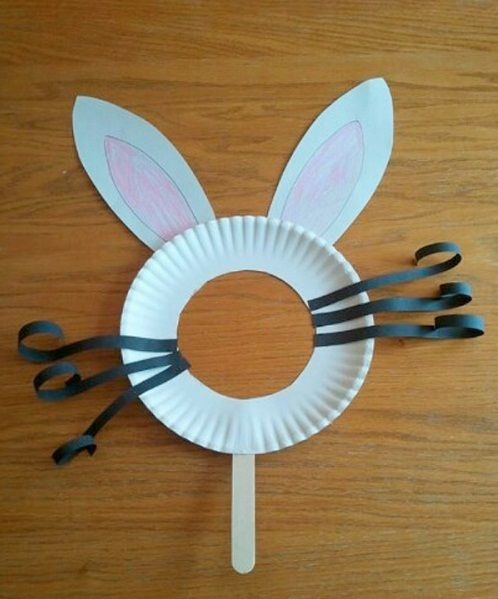 Bunny Mask DIY Projects & 56 Cool and Easy DIY Projects for Kids and Adults | Bunny mask ...