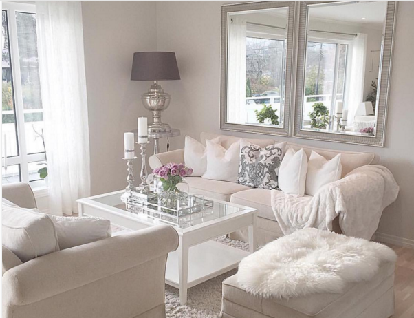 white decor living room for a single apartment wannabe home single 15030