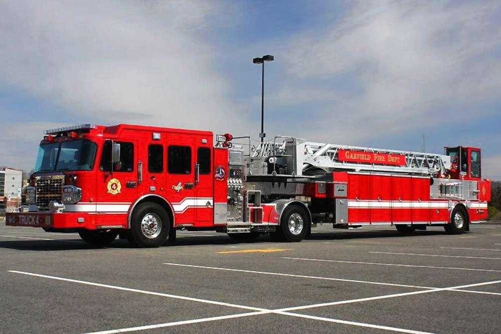 Garfield Fire Department Gets A New Fire Truck Northjersey Com Fire Trucks Fire Department Trucks