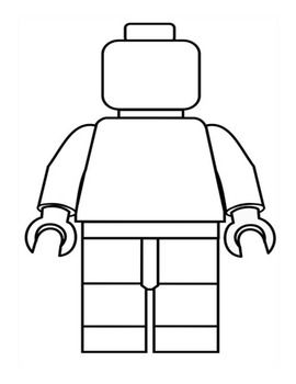 Create You Own Lego Man Writing Activity Lego Poppetje Lego