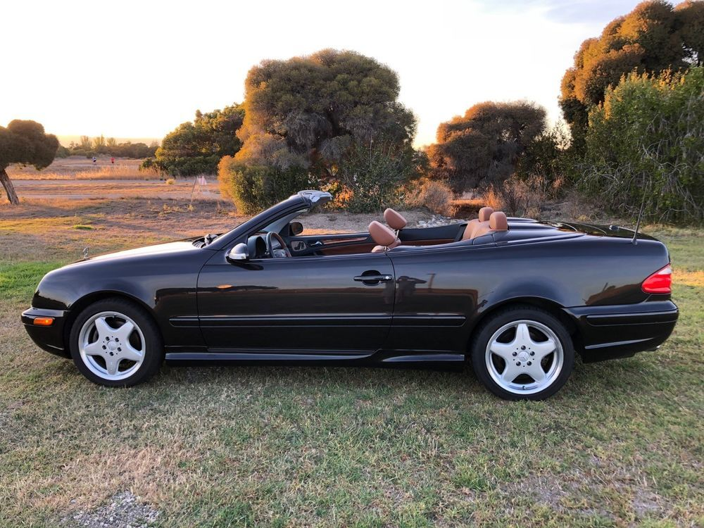 2001 Mercedes Benz Clk Cl Designo Clk430 Convertible 44k Miles No Accidents As Car Racing Cars Supercars Rolls