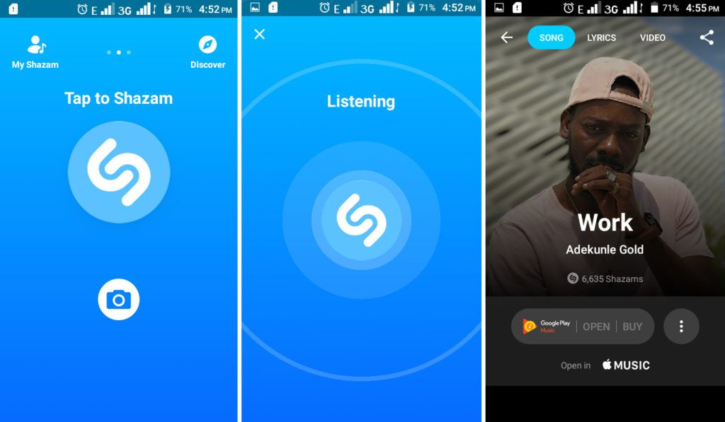 Shazam AppMusic App, Lyrics, Titles Get Started