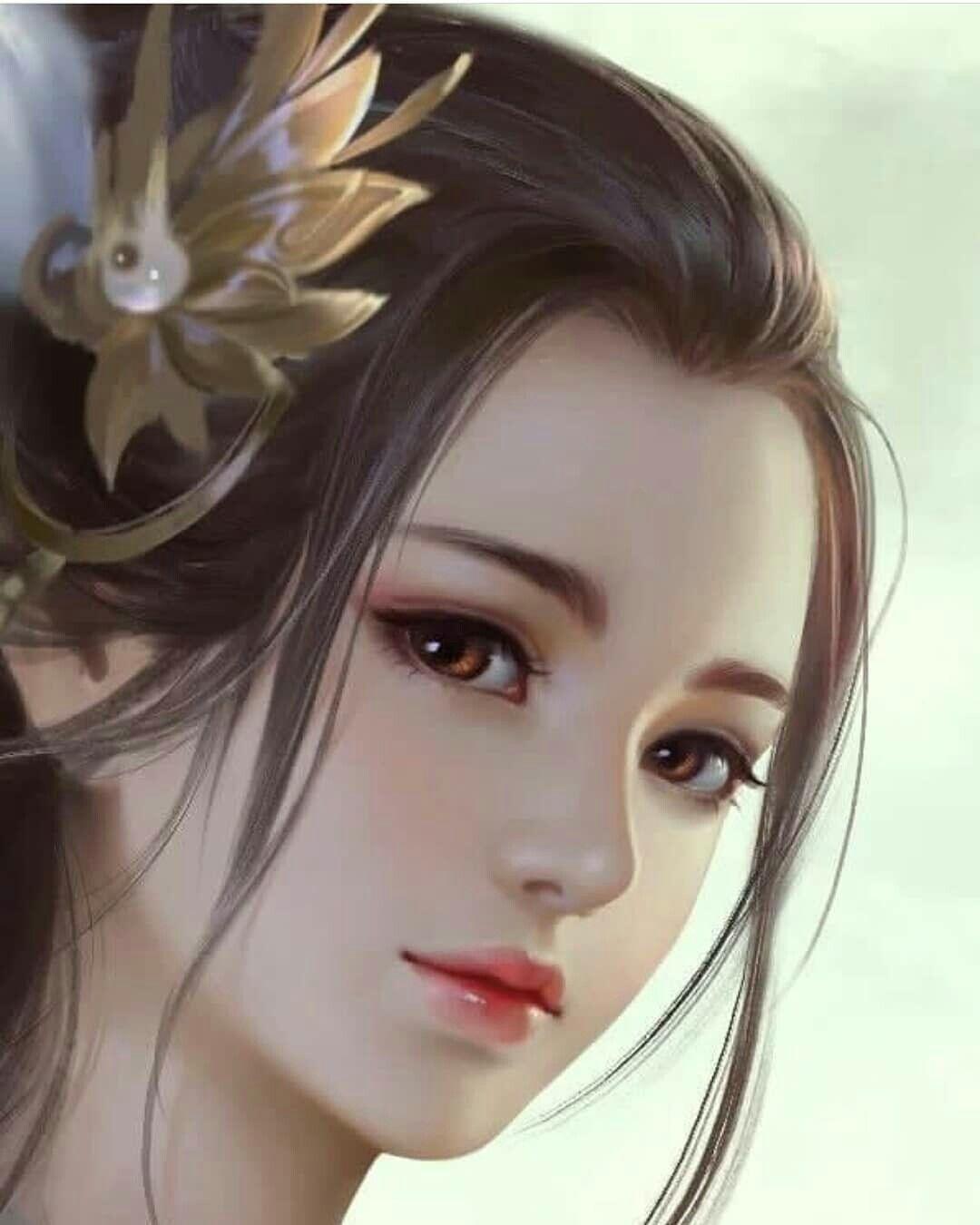 Cute Or Not Chinese Art Girl Digital Art Girl Beautiful Fantasy Art