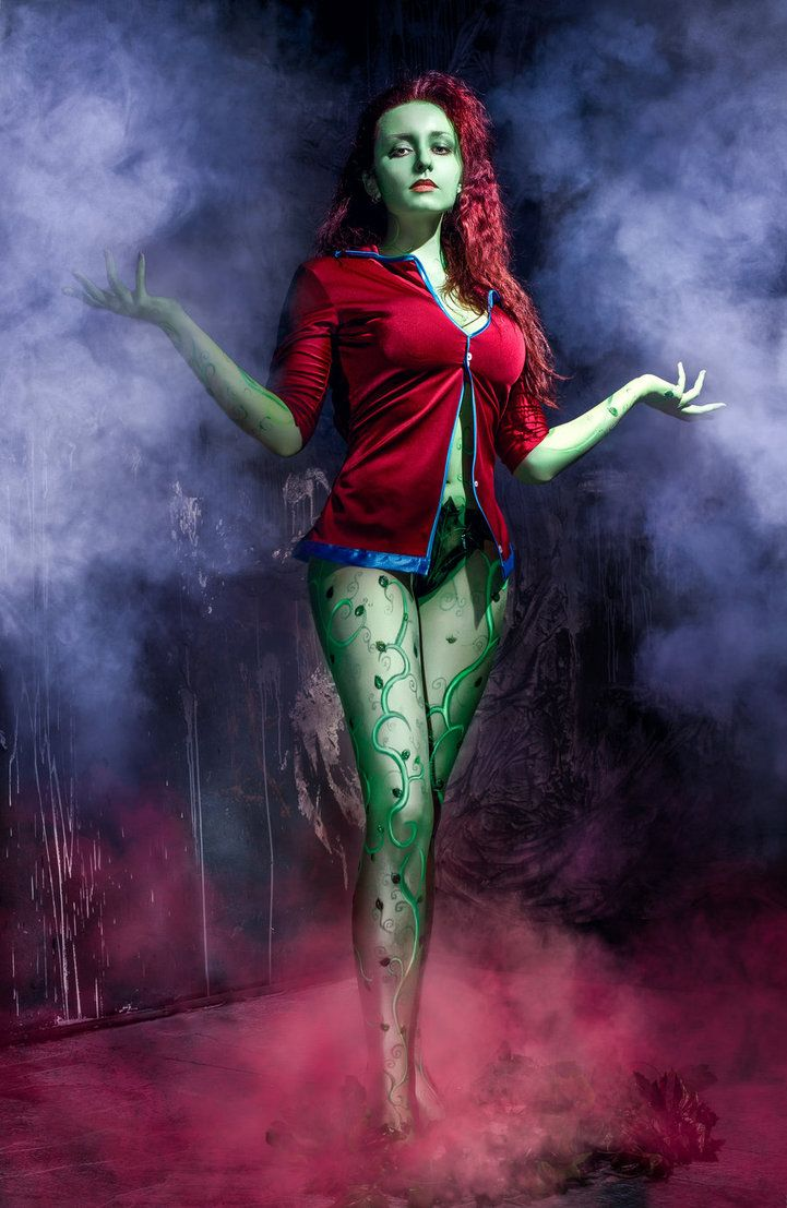 Poison Ivy Arkham Asylum Poison Ivy Arkham Asylum Dc Cosplay
