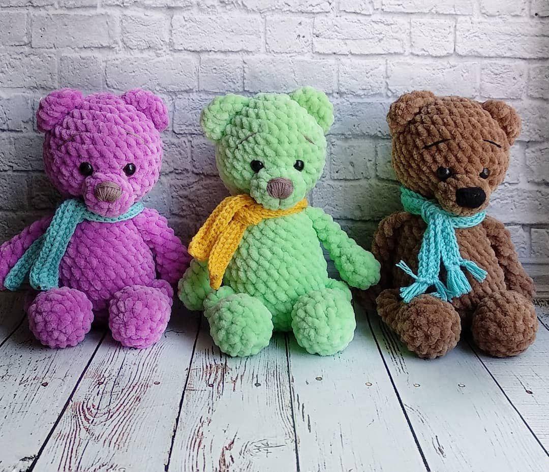 Häkeln Sie Bär kostenlose Muster #crochetteddybearpattern