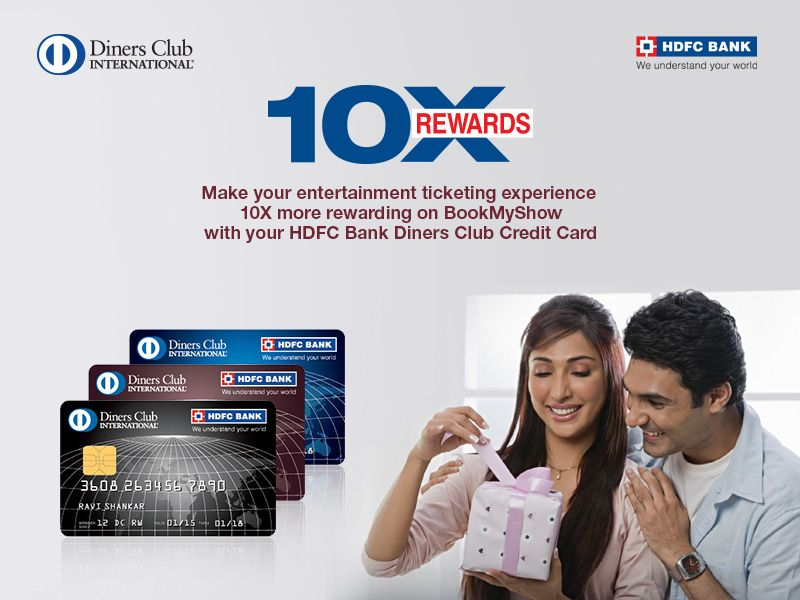 Book Any Ticket On Bookmyshow With Your Hdfcbank Diners Club
