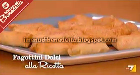 Tronchetto Di Natale Parodi.Fagottini Di Ricotta Dolci Di Benedetta Parodi Recipes And Food