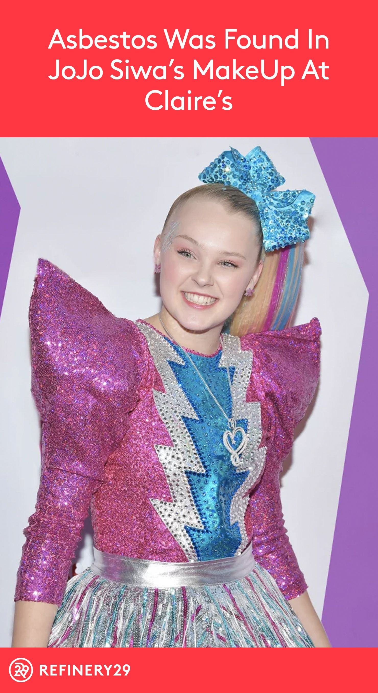 JoJo Siwa's Makeup Kit At Claire's Was Recalled For Having
