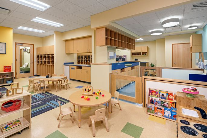 Stonehill Taylor Projects Bright Horizons At New York Presbyterian Midtown Bright Horizons Learning Spaces Childcare Center