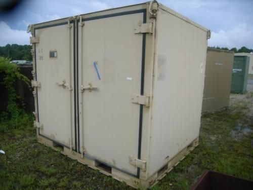 108x88x96 Aluminum Shipping Container Storage Container Conex