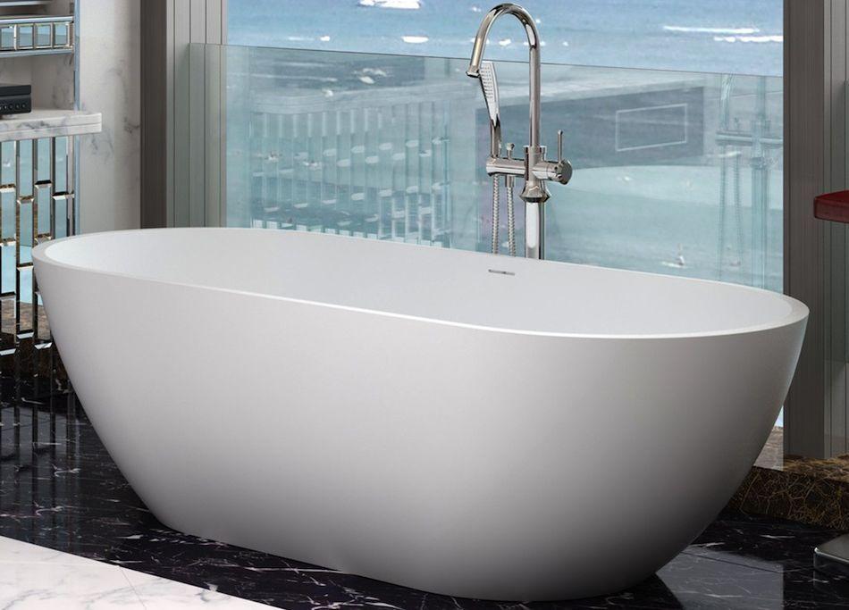 solid cast stone bath | FreeStand Baths | Pinterest | Cast stone ...