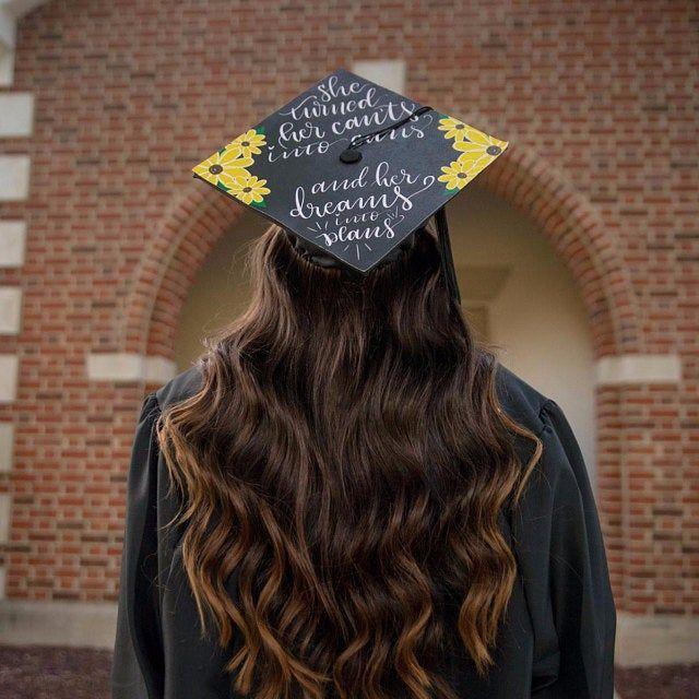 Graduation Cap Decal | DOWNLOAD ONLY | Finally | Grad Cap