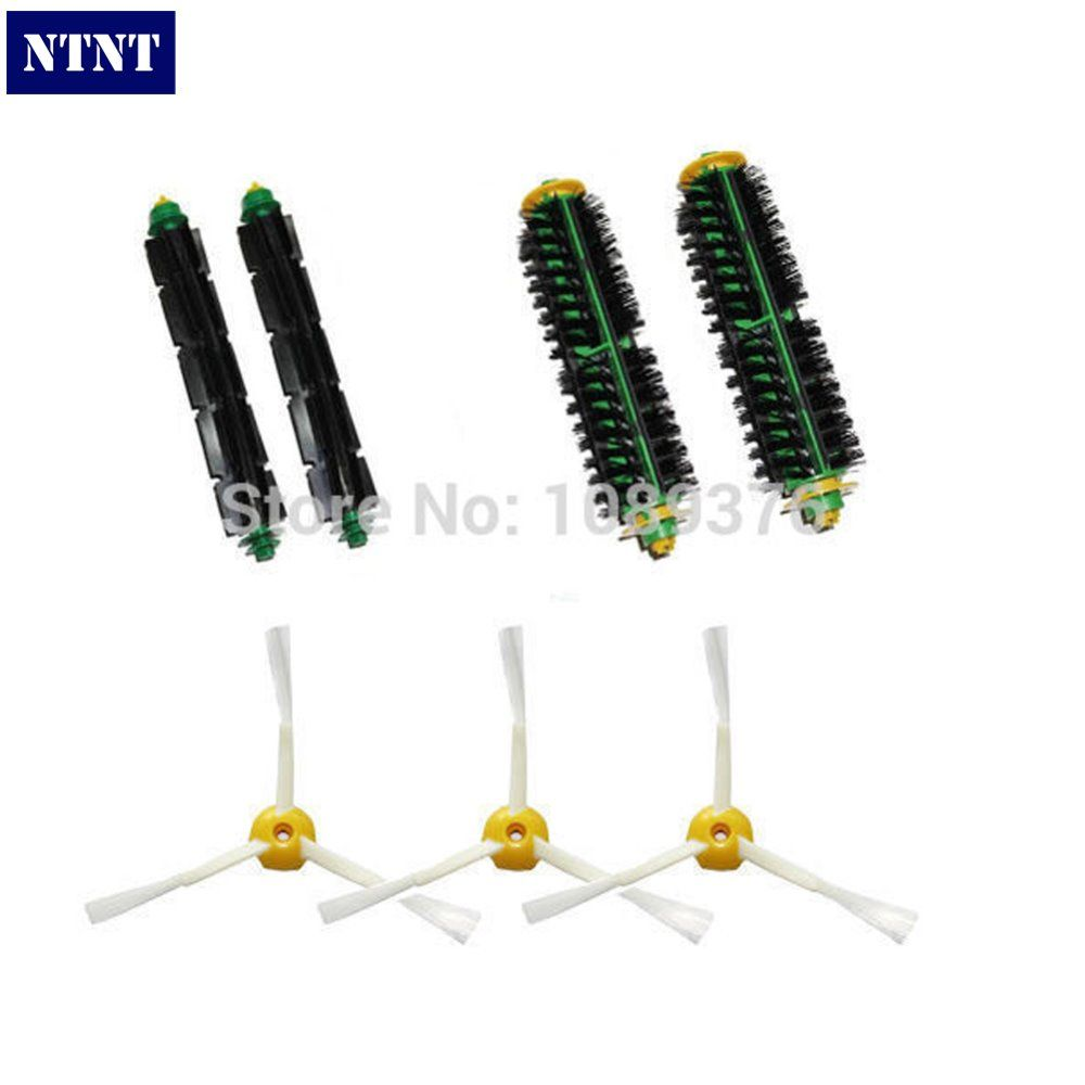 NTNT Free Shipping Brush 3 Armed Side Vacuum parts kit Clean for