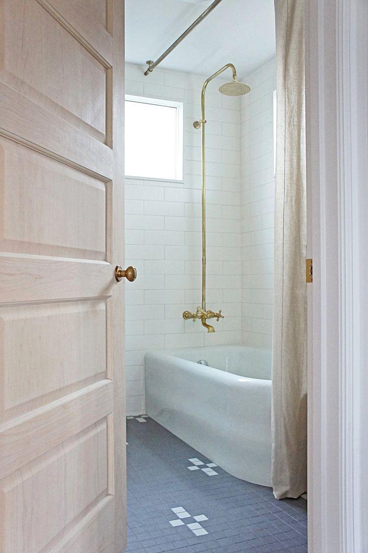 Belgian Inspired Bathroom by Kaemingk Design | Beach house bathrooms ...