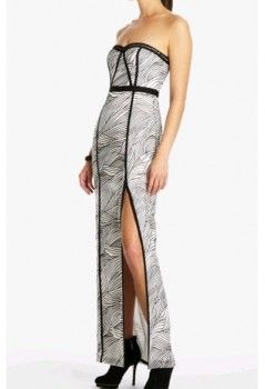 BCBG evening dresses on sale, fashion and sexy BCBG Elin Strapless Long Dress for women.