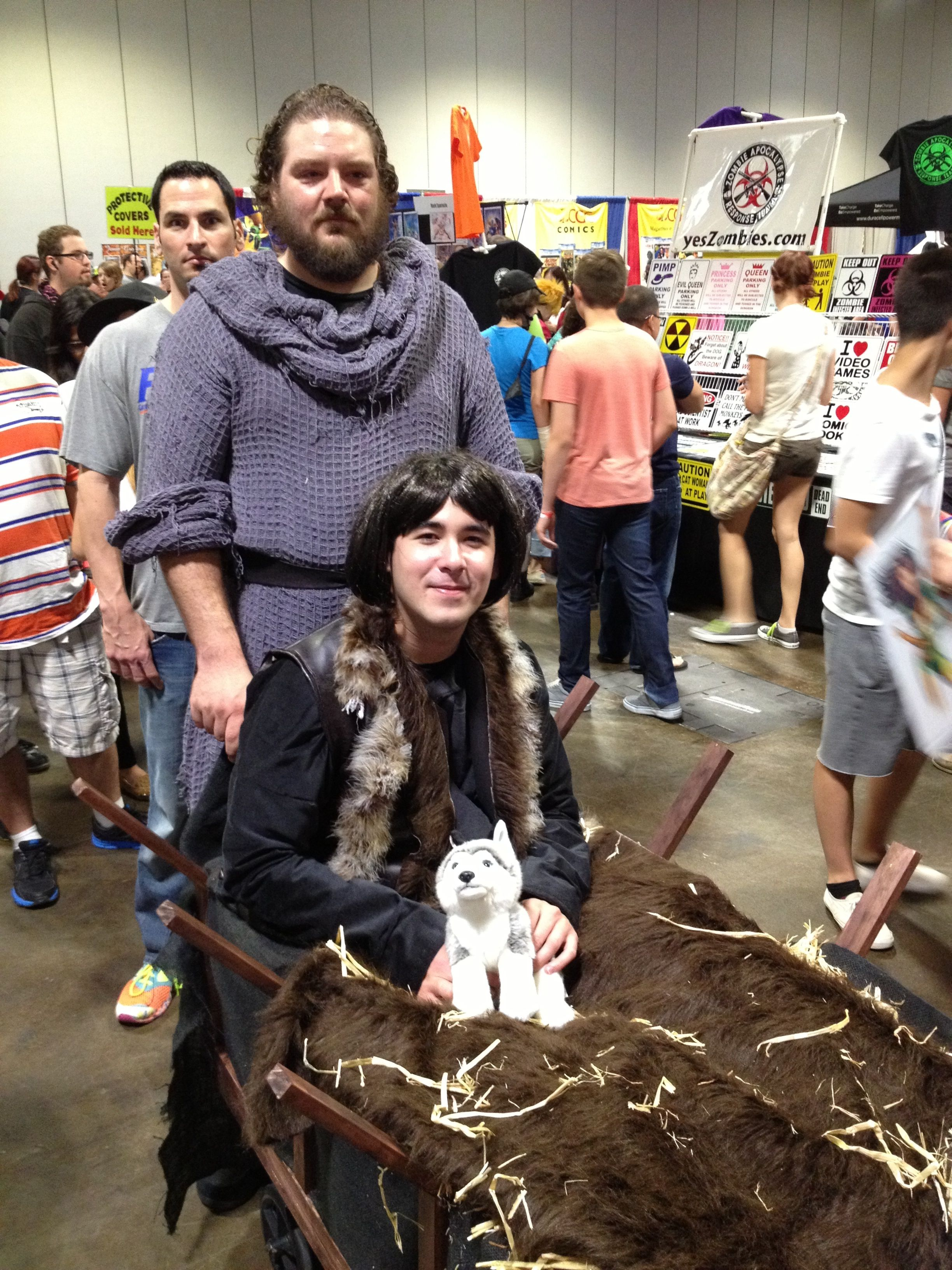Image result for brandon stark cosplay