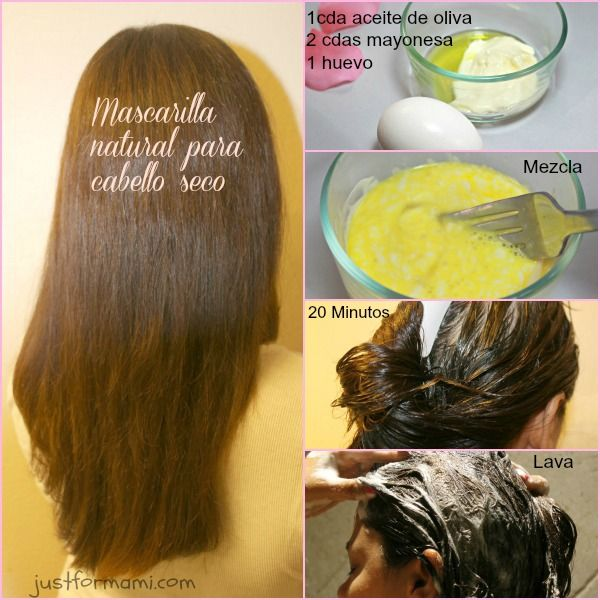 venta minorista comprar el más nuevo brillante en brillo Mascarilla natural para cabello seco #cabello #mascarilla ...