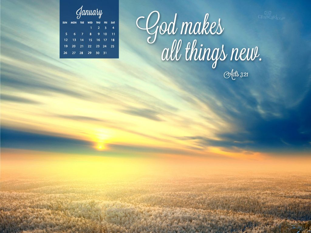 Jan 2014 Acts 3 21 Desktop Calendar Free January Wallpaper January Wallpaper Desktop Wallpaper Calendar Free Christian Wallpaper