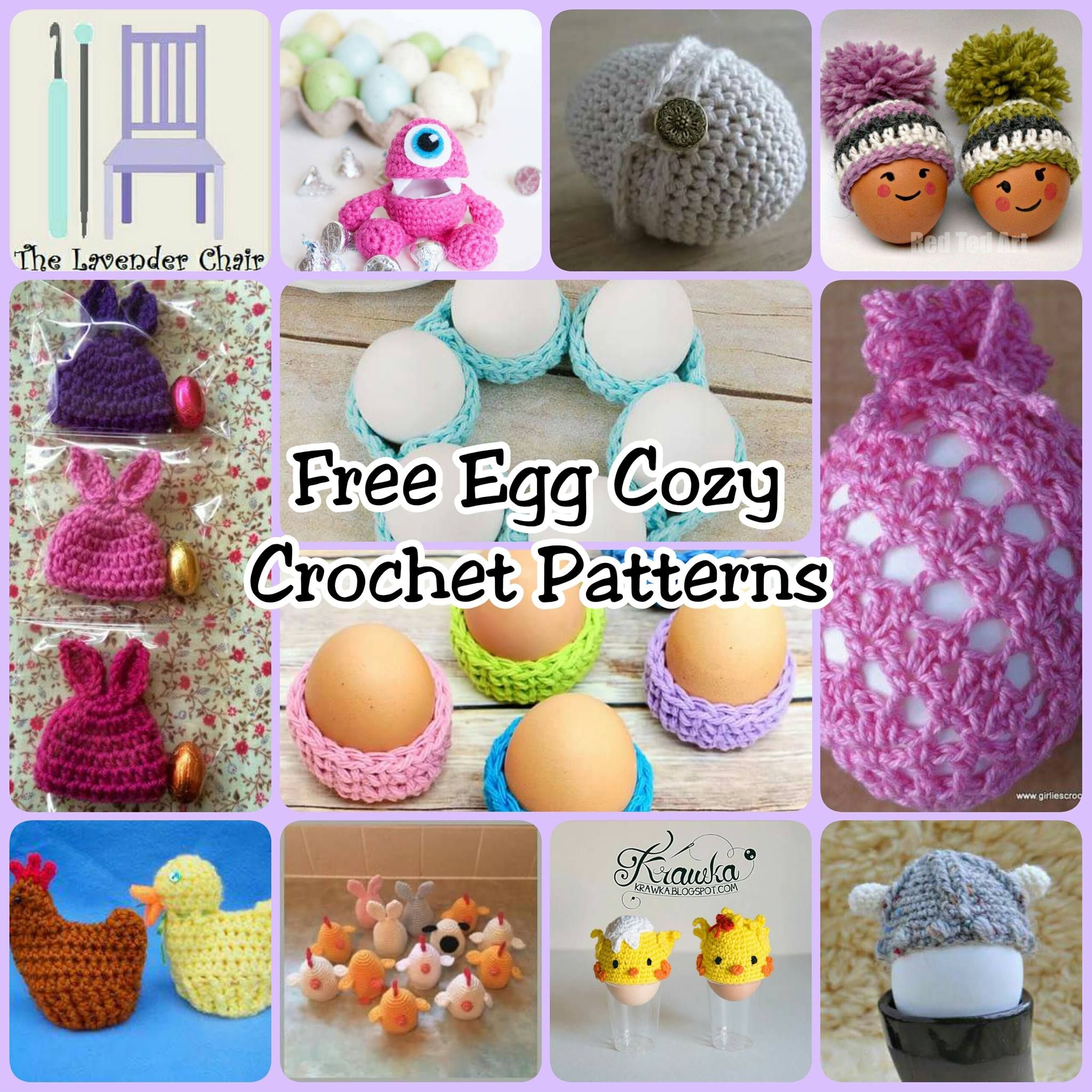 FREE Egg Cozy Crochet Patterns | Pinterest