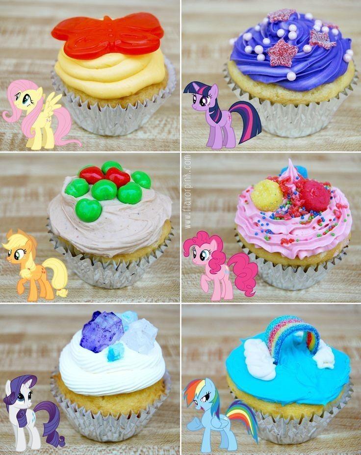 Cake de my litlle pony my little pony cupcakes my