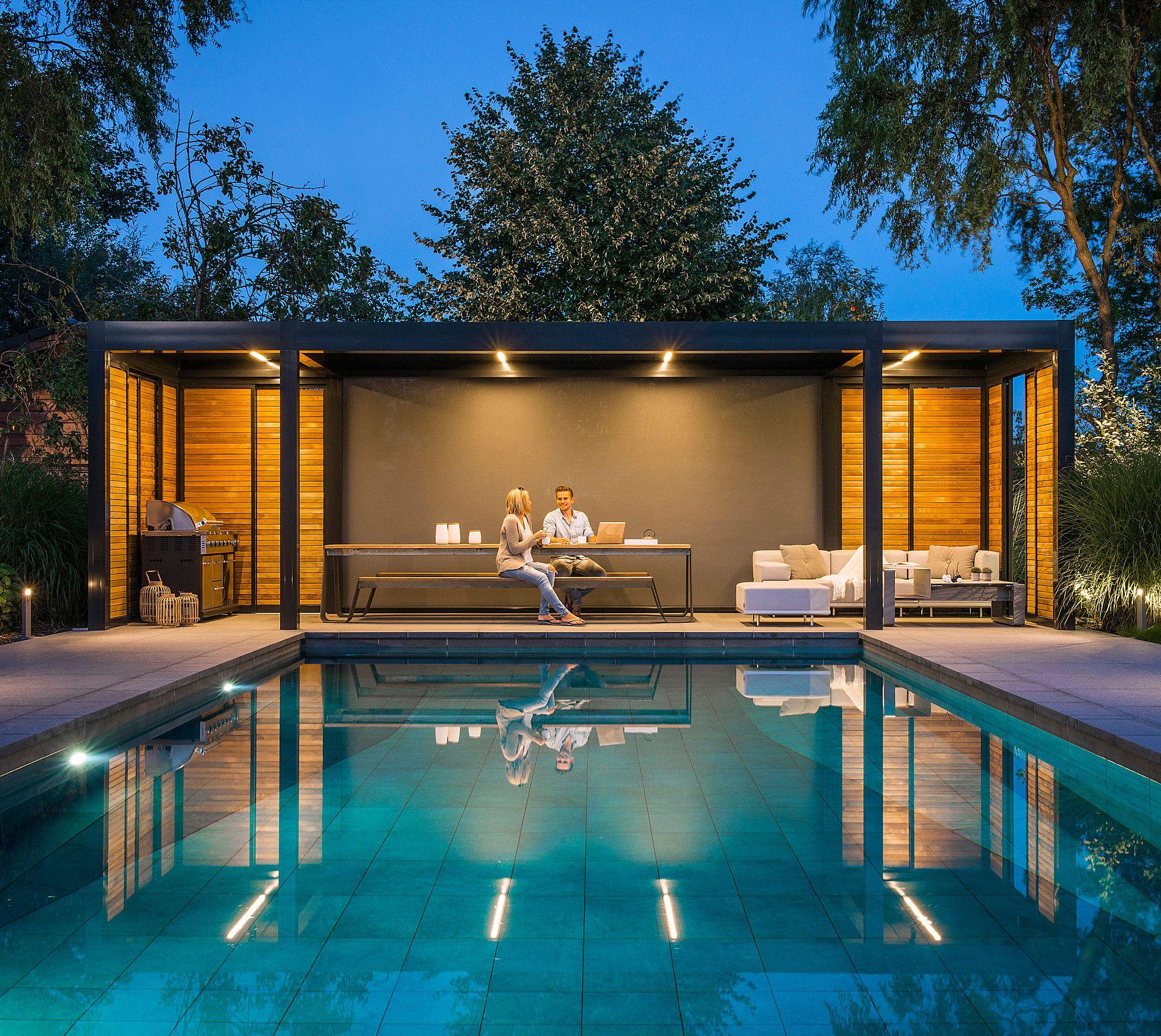 Renson Gardenlux Outdoor Living Häuser mit pool