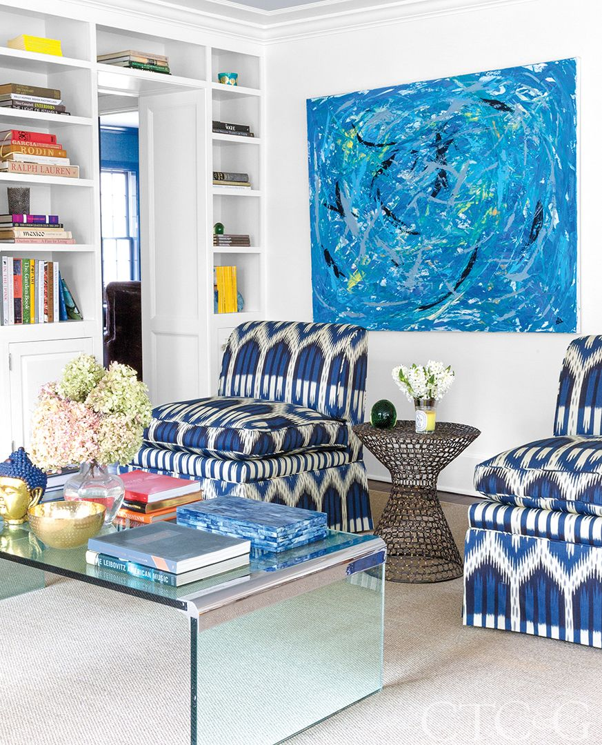 Designer Amelia Johnson Fills Her Fairfield Home With Blue