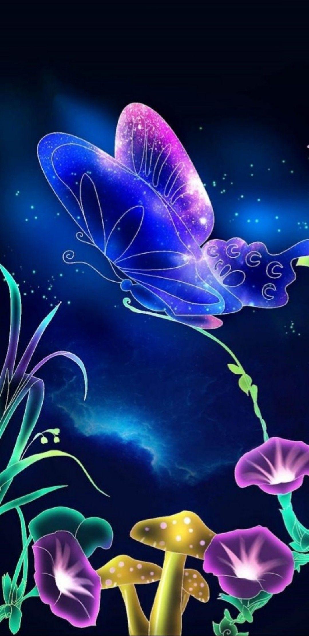Butterfly Magic Butterflies In 2019 Butterfly Wallpaper