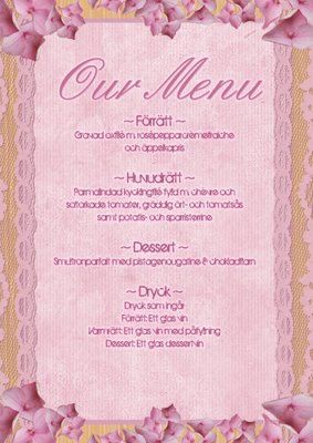 Printable Menu Template  Free Printables    Menu