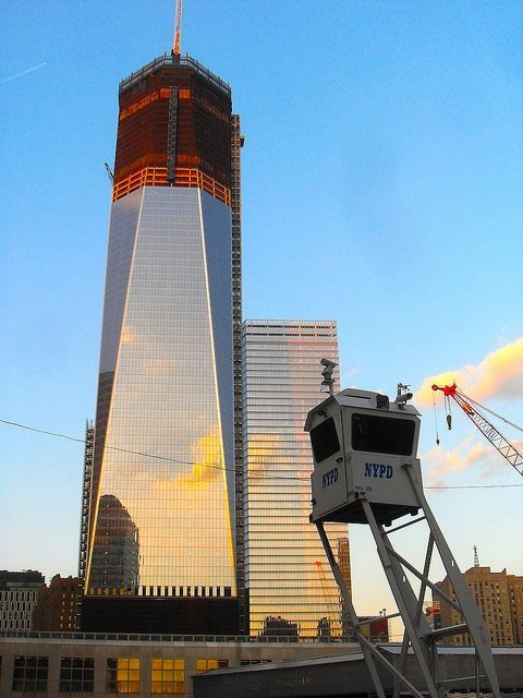 7 January 2012 WTC Site NYC Ground Zero FREEDOM TOWER South Face #groundzeronyc 7 January 2012 WTC Site NYC Ground Zero FREEDOM TOWER South Face by Christian Montone, via Flickr #groundzeronyc