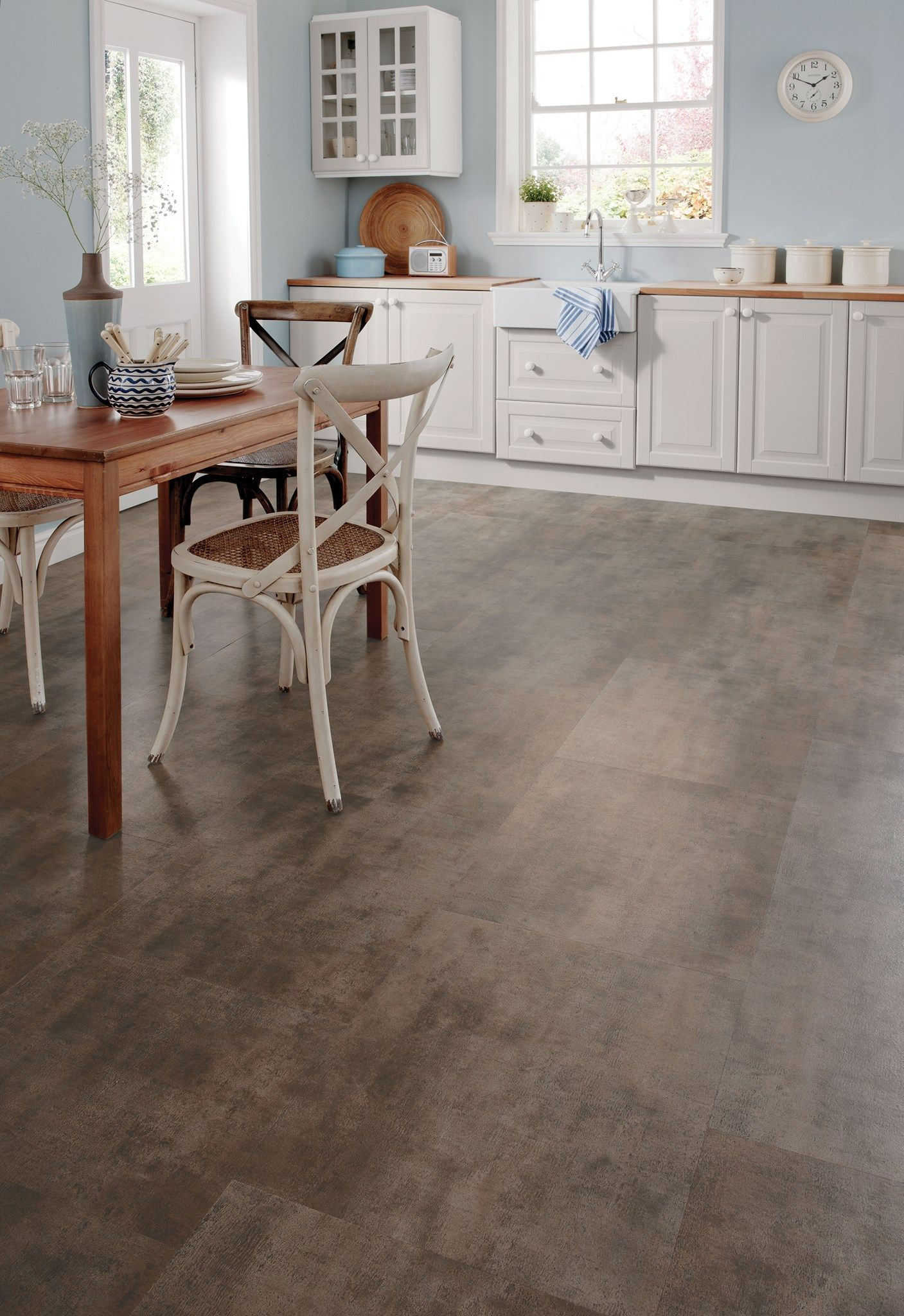 Our Mid Brown Karndean Arizona Llt200 Floor Tile Is Perfect For A