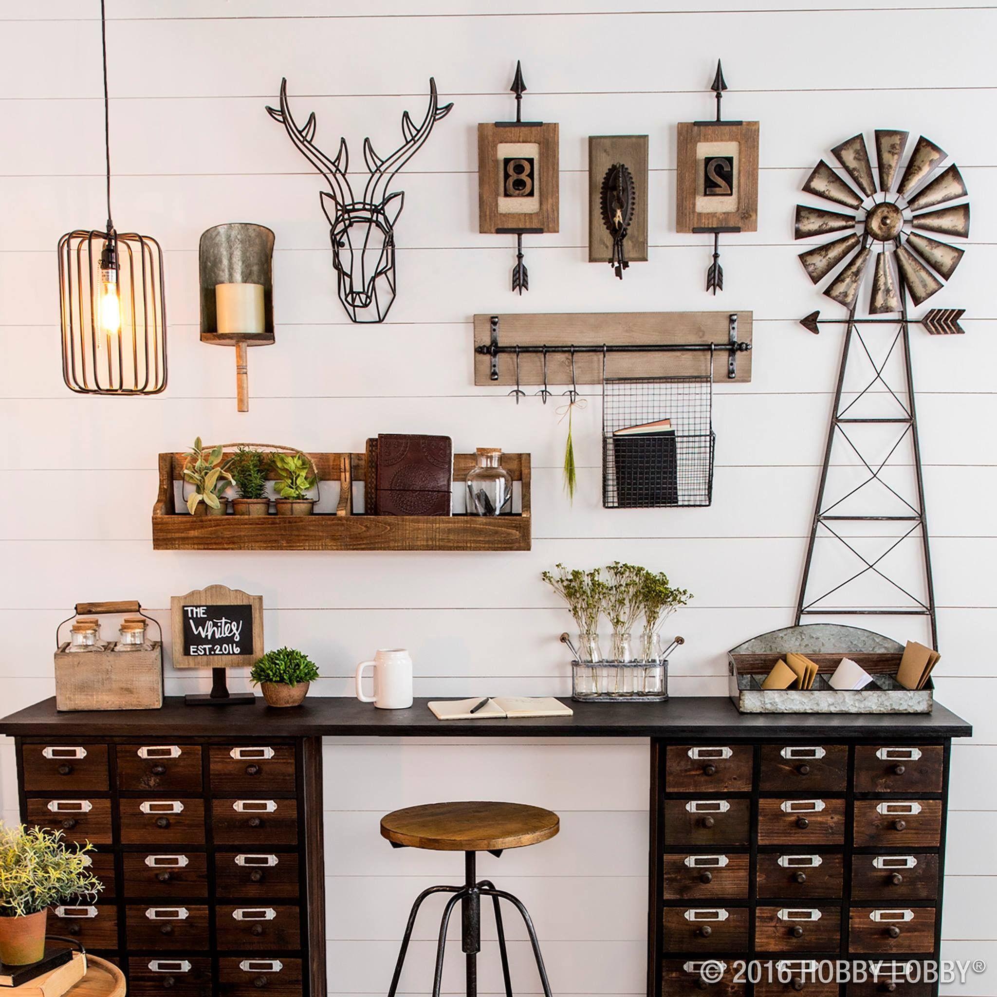 Hobby lobby urban farmhouse! … Urban farmhouse decor