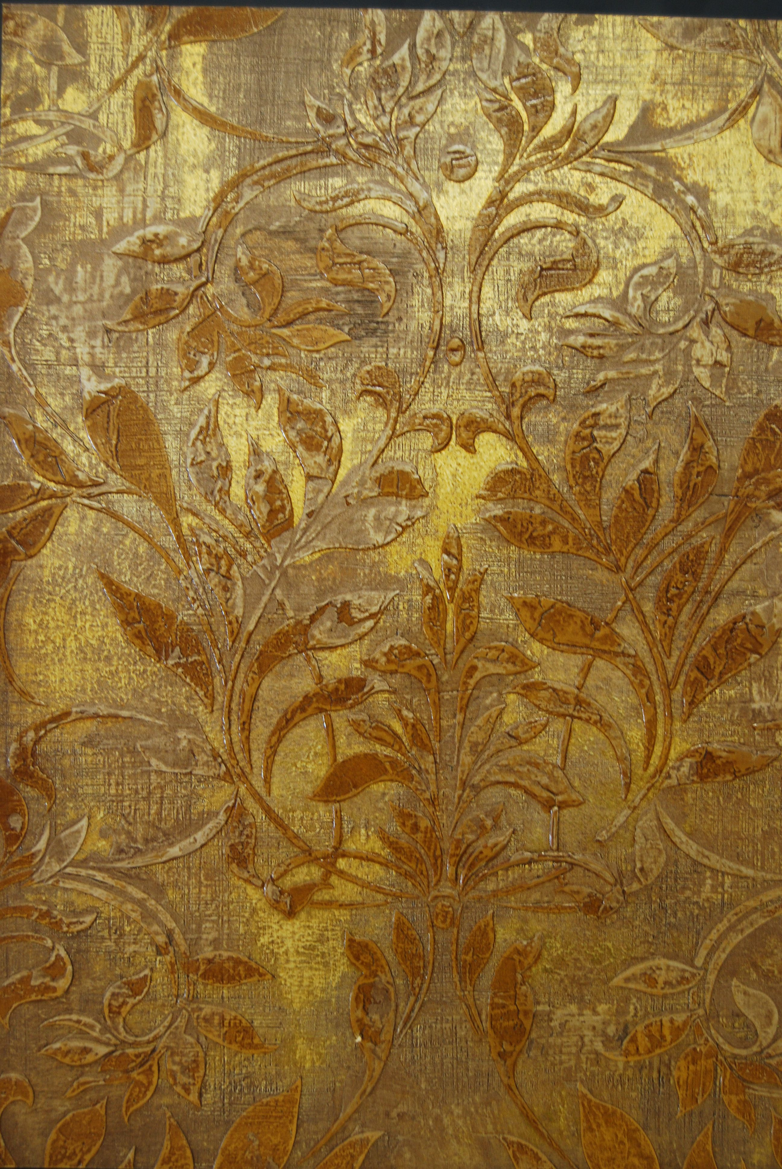 Nouveau Lame wall finish by Patina Home | Teri Roddy\'s work ...