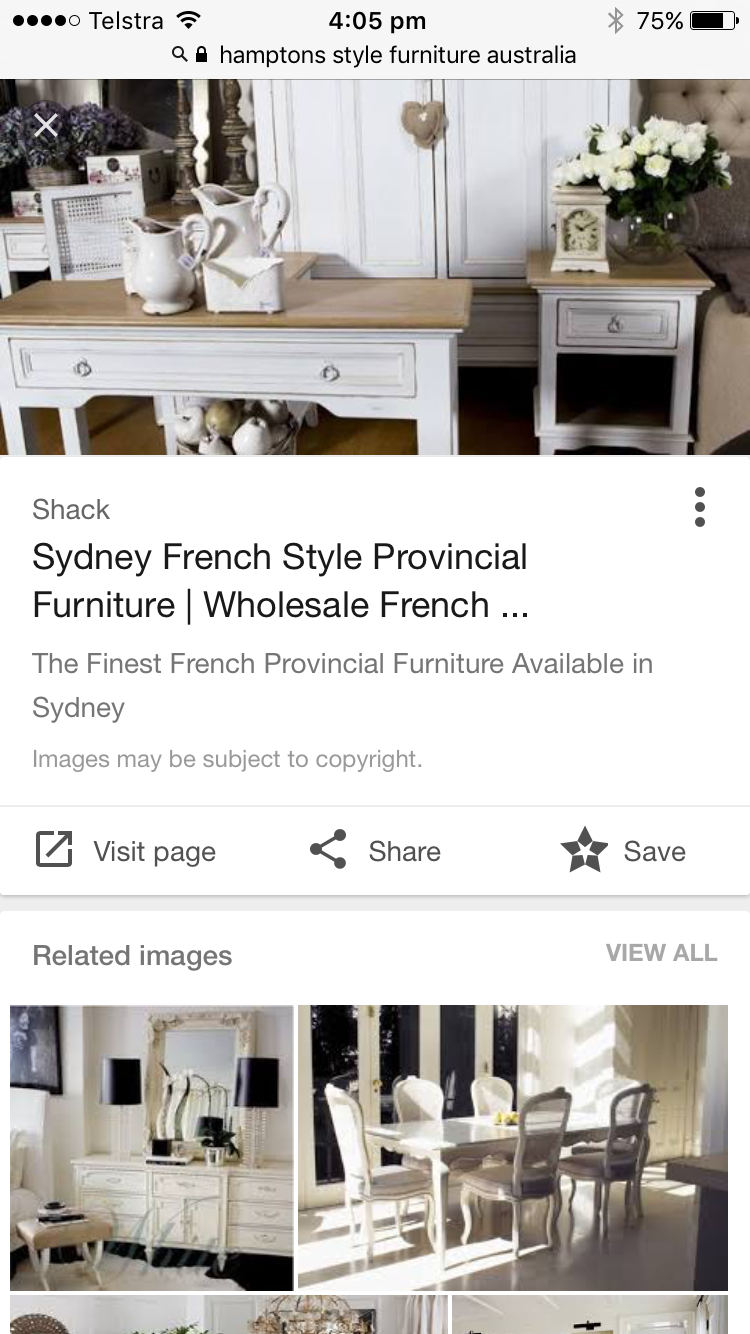 Pin by Ashlea Cc on House French provincial furniture